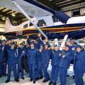 Air Cadets meet the Boss Beaver